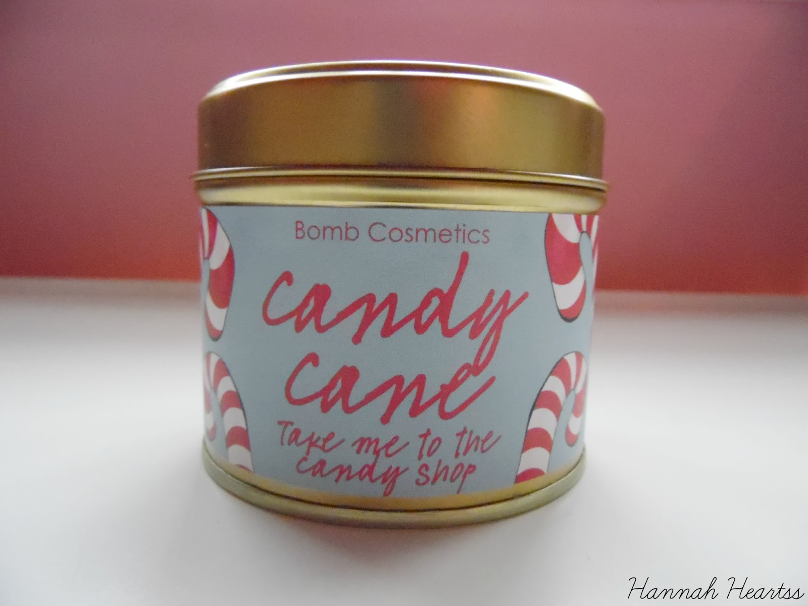 Bomb Cosmetics Candy Cane Candle