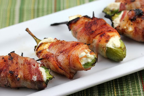 ... the font papyrus bacon wrapped jalapeno thingies sweet popcorn