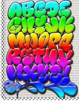 Cool-Graffiti-Alphabet-Bubble-Letters