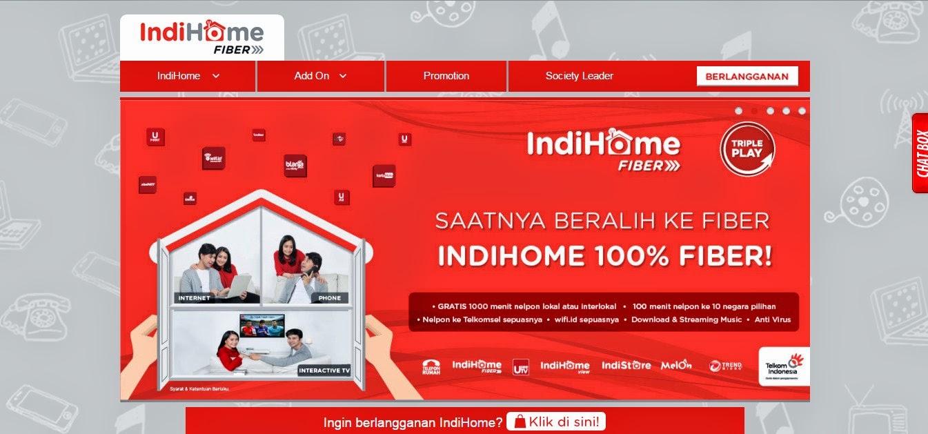Cara Berlangganan Telkom IndiHome Fiber