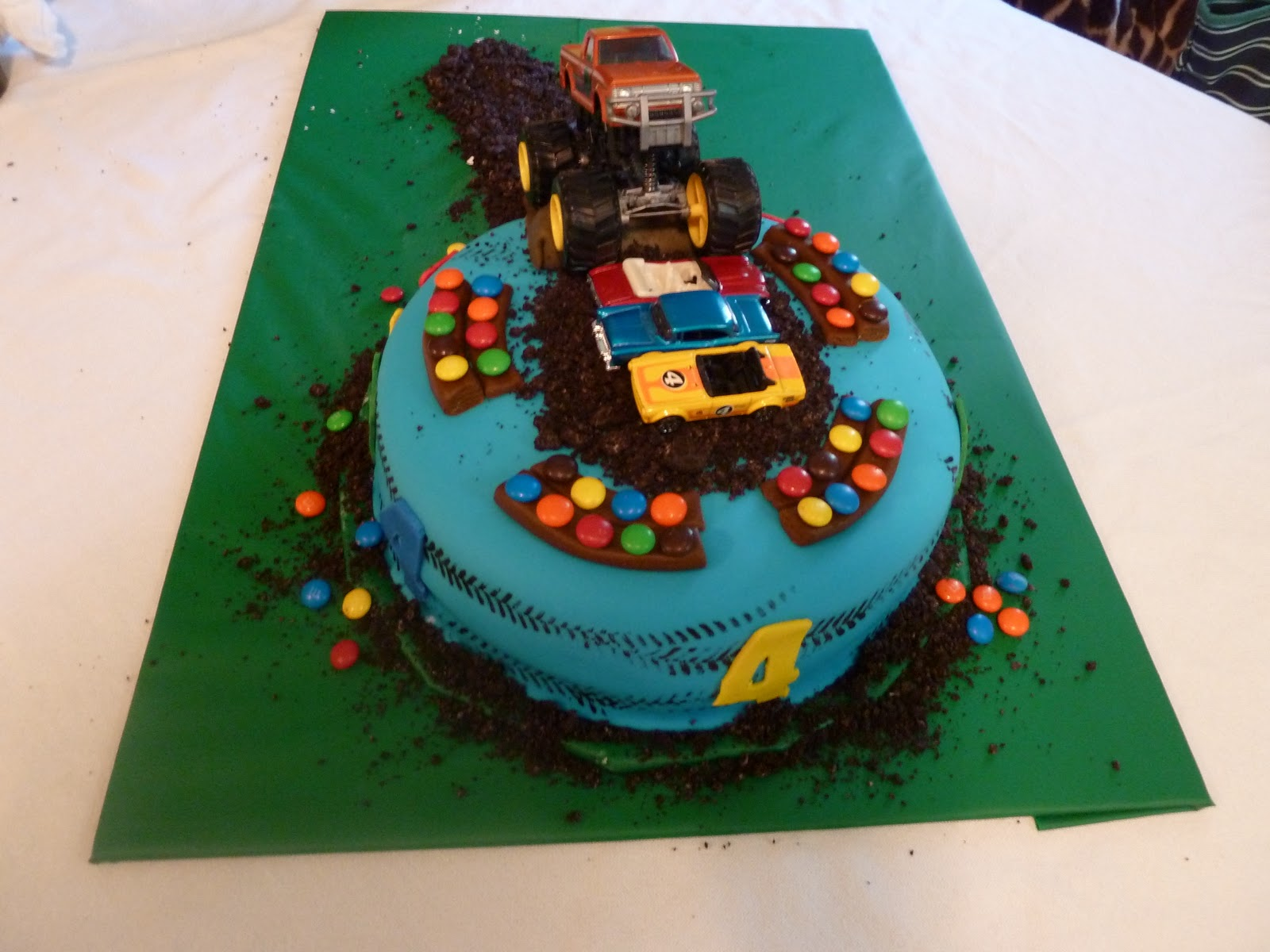 Dawns Divine Delights Monster Truck Cake