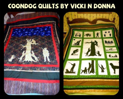 Wasted Days Wasted Nites: COONDOG QUILTS : hunting quilts - Adamdwight.com