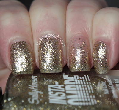 sally hansen insta ombre review swatches gold grade