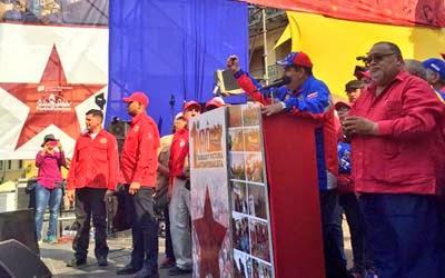 El Presidente Maduro anuncio aumento de 30% en el salario mínimo en Venezuela