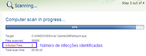 virus-encontrado-nod32 infected files