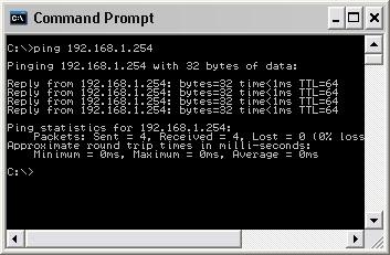 Periksa koneksi PC dengan TL-WA5210G