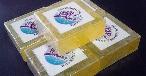 Pure Marine Seaweed Collagen: Sabun PMC Rawat Jerawat