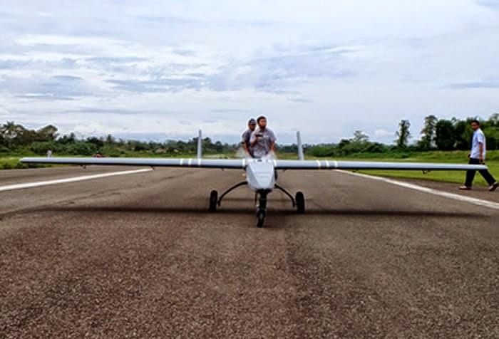Lapan Kembangkan Dron Berdaya Jelajah 600-800 Kilometer