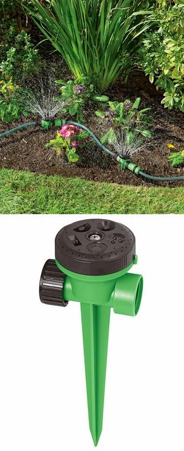 snip n spray garden and landscape sprinkler system