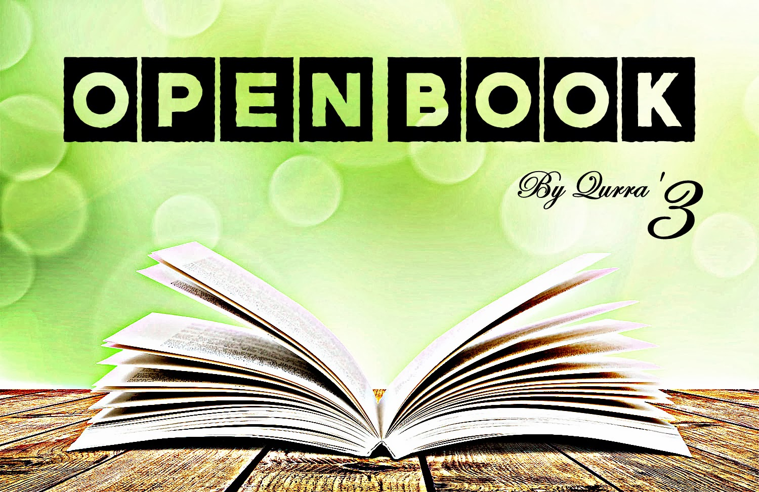 Open Book by Qurra' 3