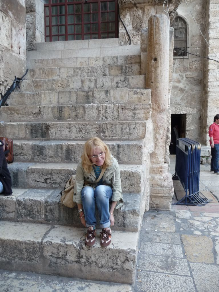 SANTO SEPULCRO, LA PUERTA. JERUSALEM