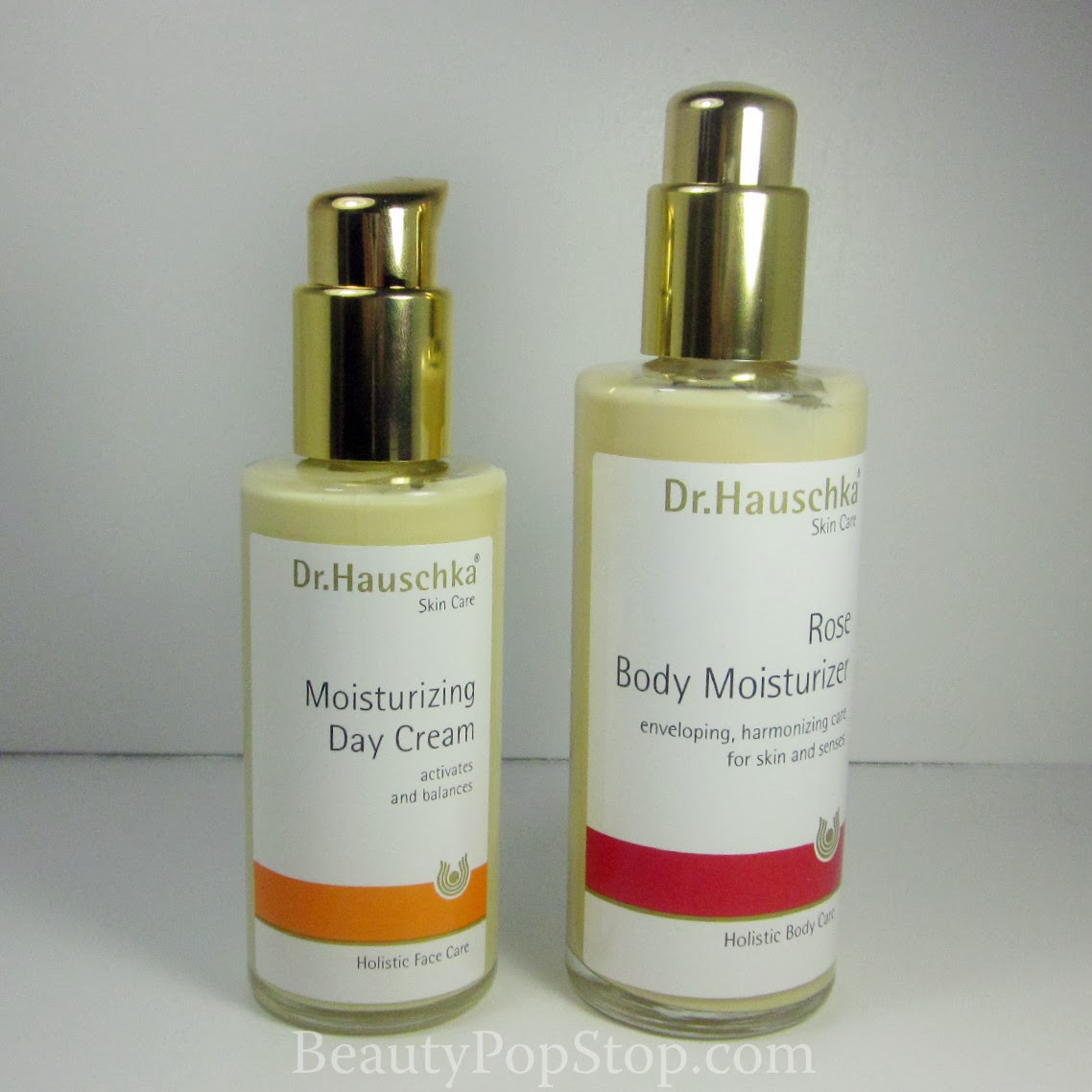 dr. hushcka skin care moisturizing day cream and rose body moisturizer review