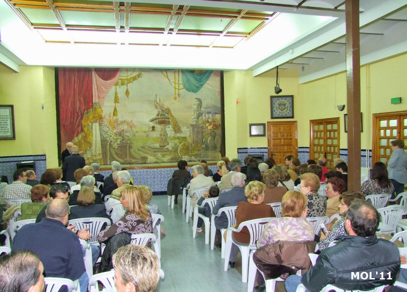 II MOSTRA DE SAINETS EN LLENGUA VALENCIANA, MANISES 2007.