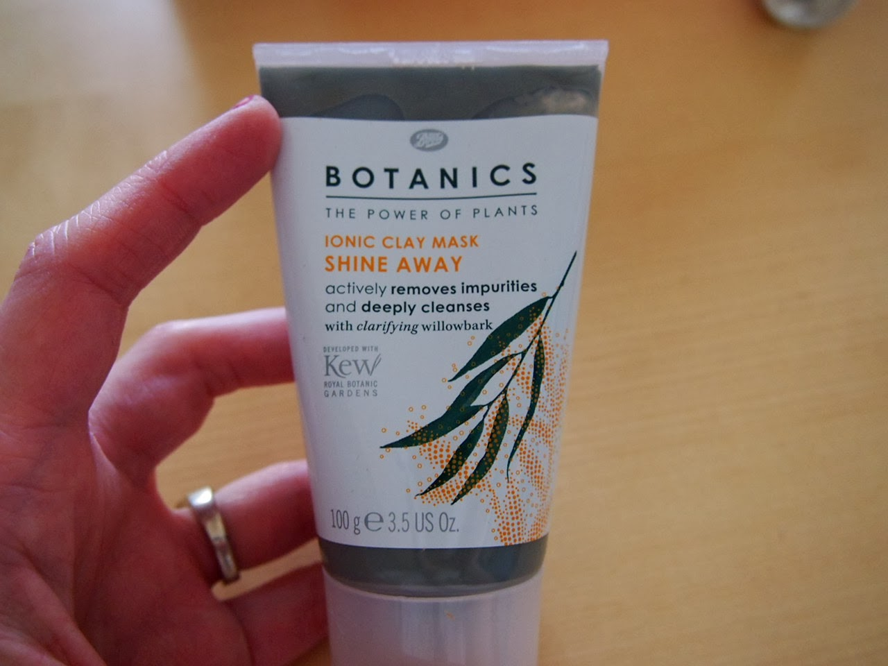 botanics clay mask review, influenster product review