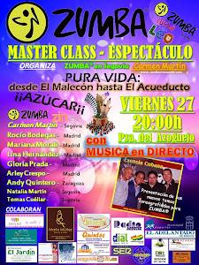 MASTER CLASS ZUMBA® en Segovia 27 Junio PLAZA AZOGUEJO