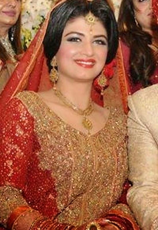 Pakistani Celebrity Faha Makhdoom Wedding Pictures