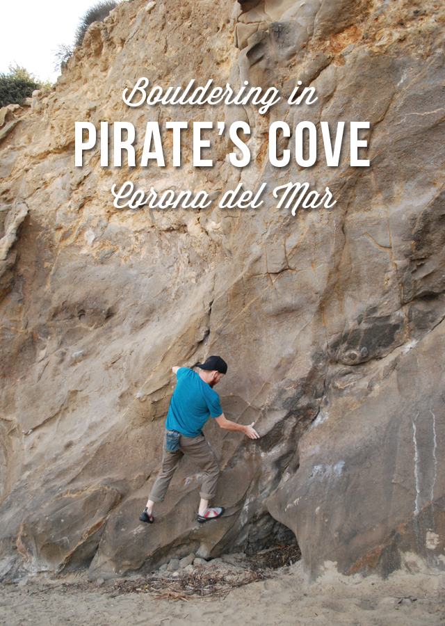Bouldering in Pirate's Cove, Corona del Mar, California | EmBusyLiving.com