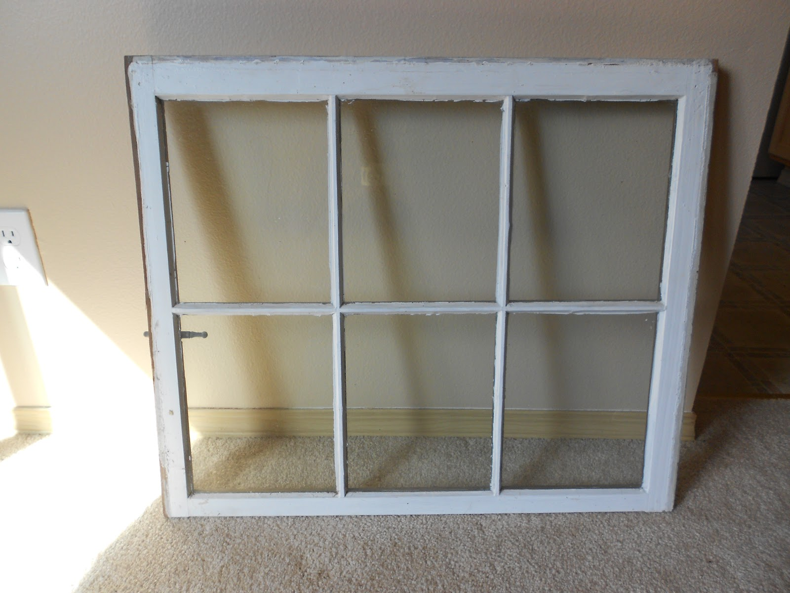 junkin 39 crafts old window turned picture frame