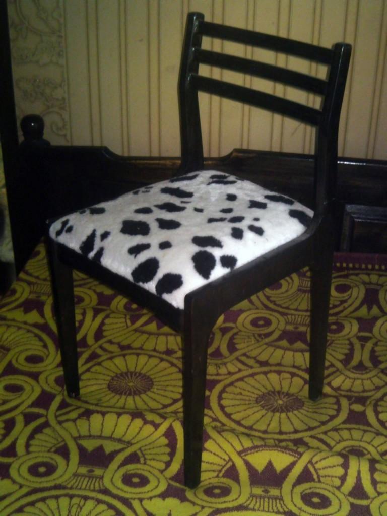 Как поменять обивку на стул своими руками 185