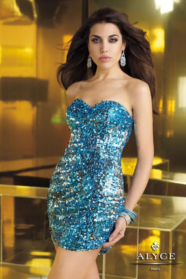 Increíbles vestidos de cóctel con lentejuelas | Moda y Belleza
