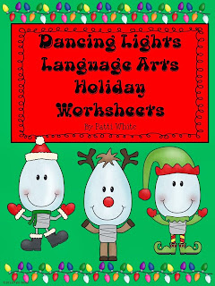 http://www.teacherspayteachers.com/Product/Dancing-Lights-ELA-Holiday-Worksheets-996115