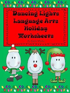 http://www.teacherspayteachers.com/Product/Dancing-Lights-ELA-Holiday-Worksheets-996115