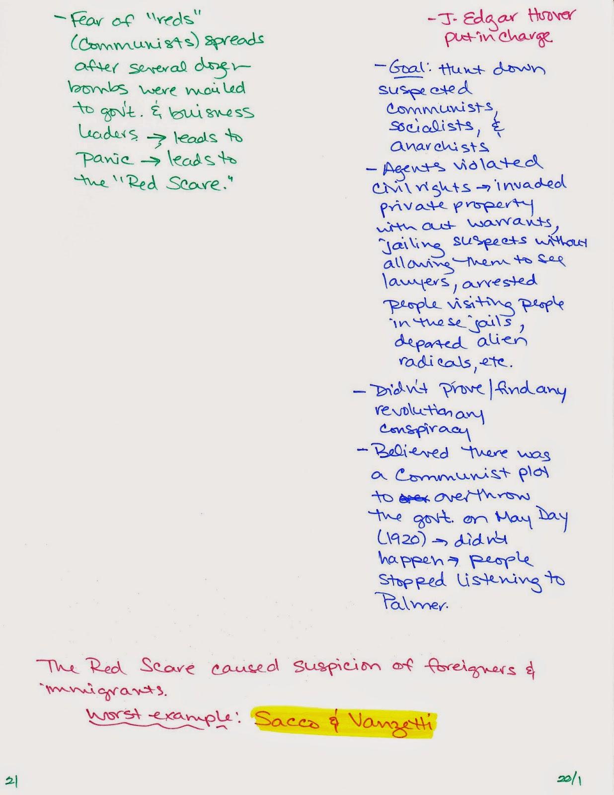 us history chapter 21 notes Study notes, llc, 17 nov 2012 web 06 sep 2018.