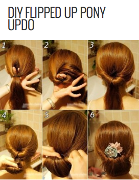 http://www.stylishboard.com/diy-flipped-up-pony-updo/