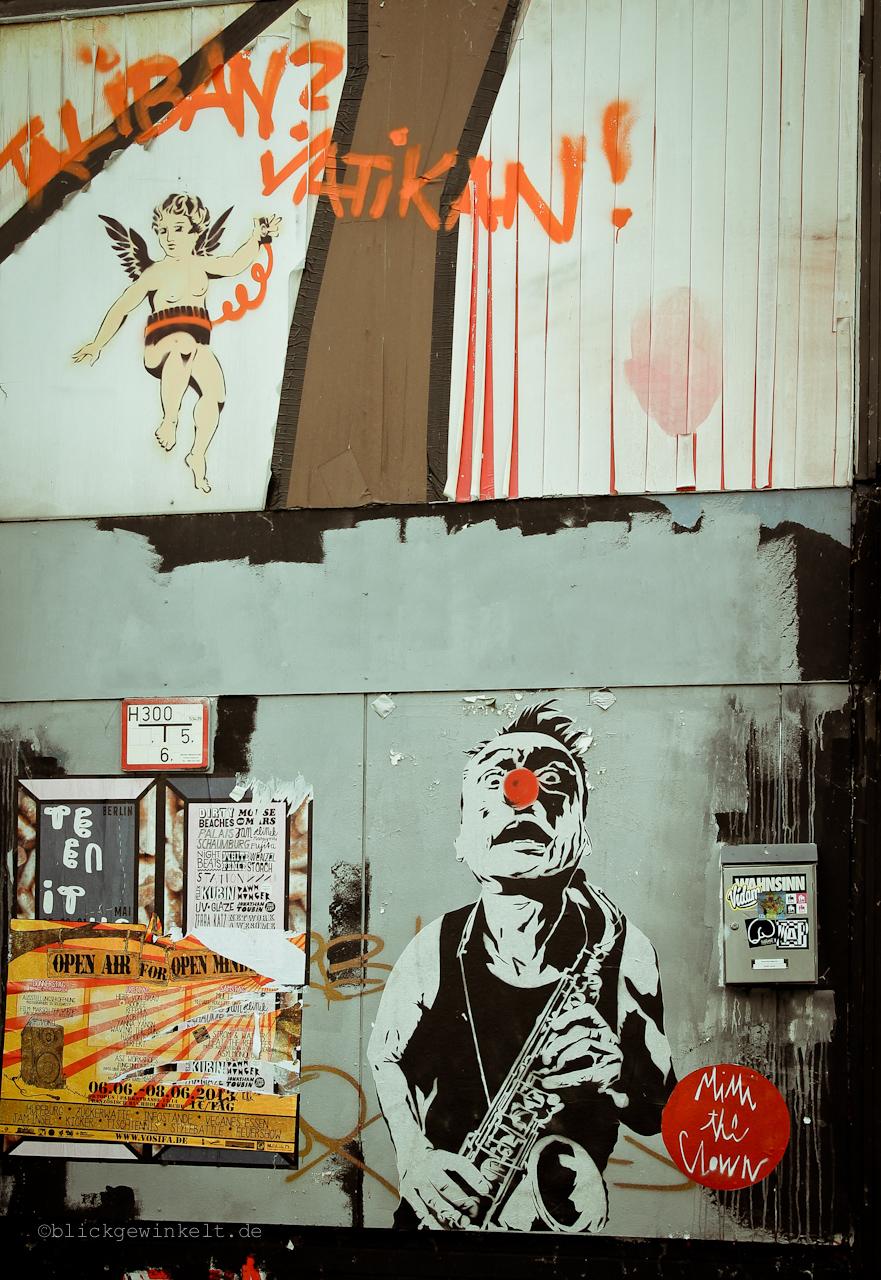 Graffiti Clown Stattbad Wedding