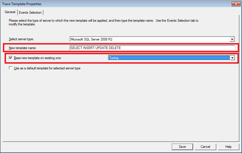 Technical Instructions How To Set Up Sql Server Profiler To Show