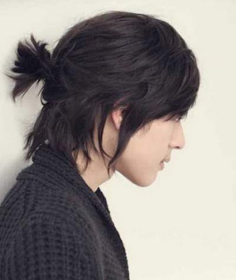 Gaya ponytail pria asia 154478