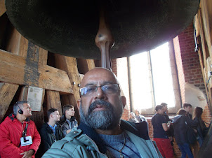 """At the """"Royal Sigismund(Zygmunt) Bell."""" in Wawel Cathedral"""