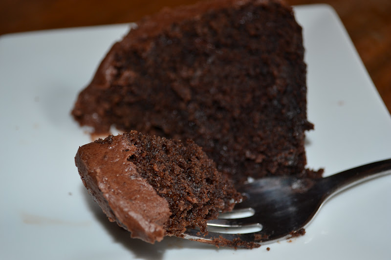 ... Delights with Rebecca: Chocolate Friendship Cake with Fudge Icing