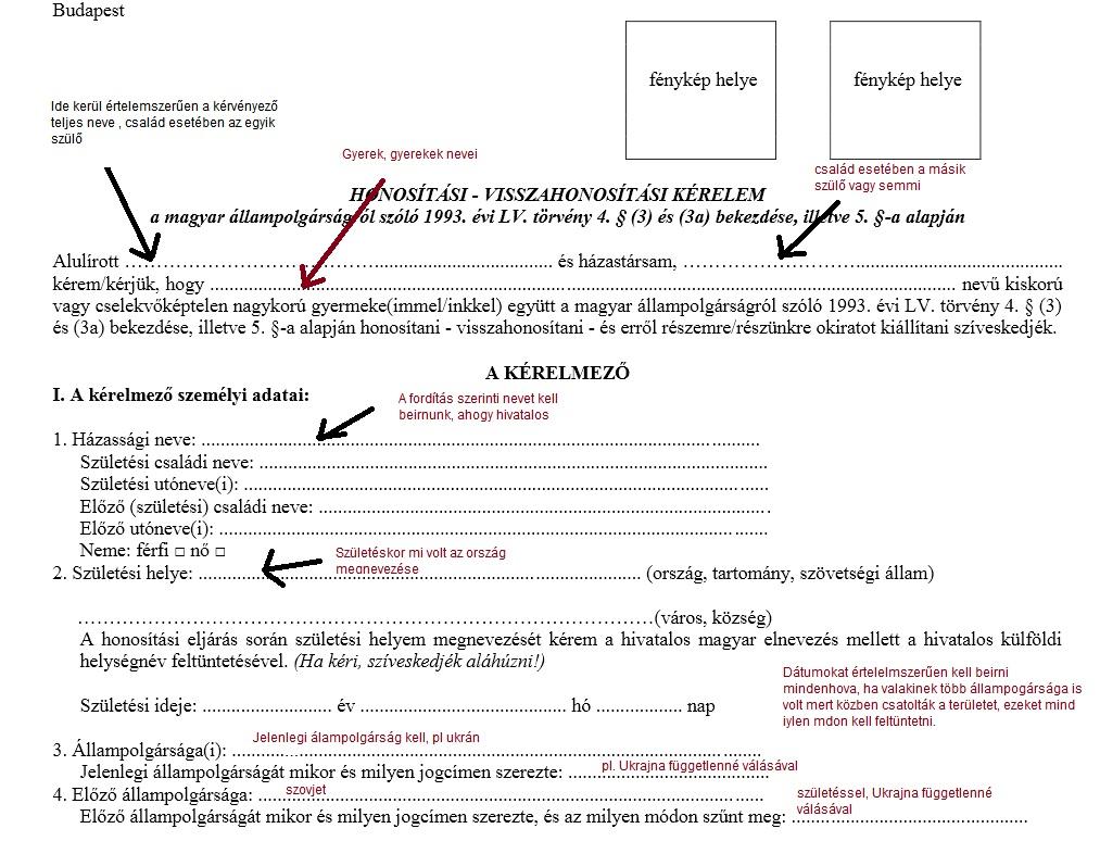 honositási önéletrajz minta Egyszerűsített honosítás: A kérelem kitöltésének útmutatója honositási önéletrajz minta