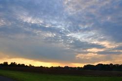 Morgenhimmel Richtung Osten...