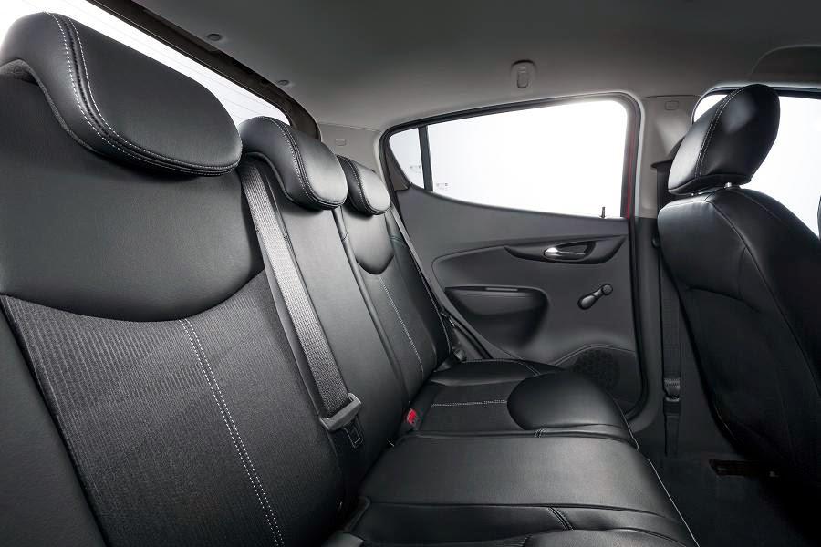 Opel Karl (2015) Rear Seats