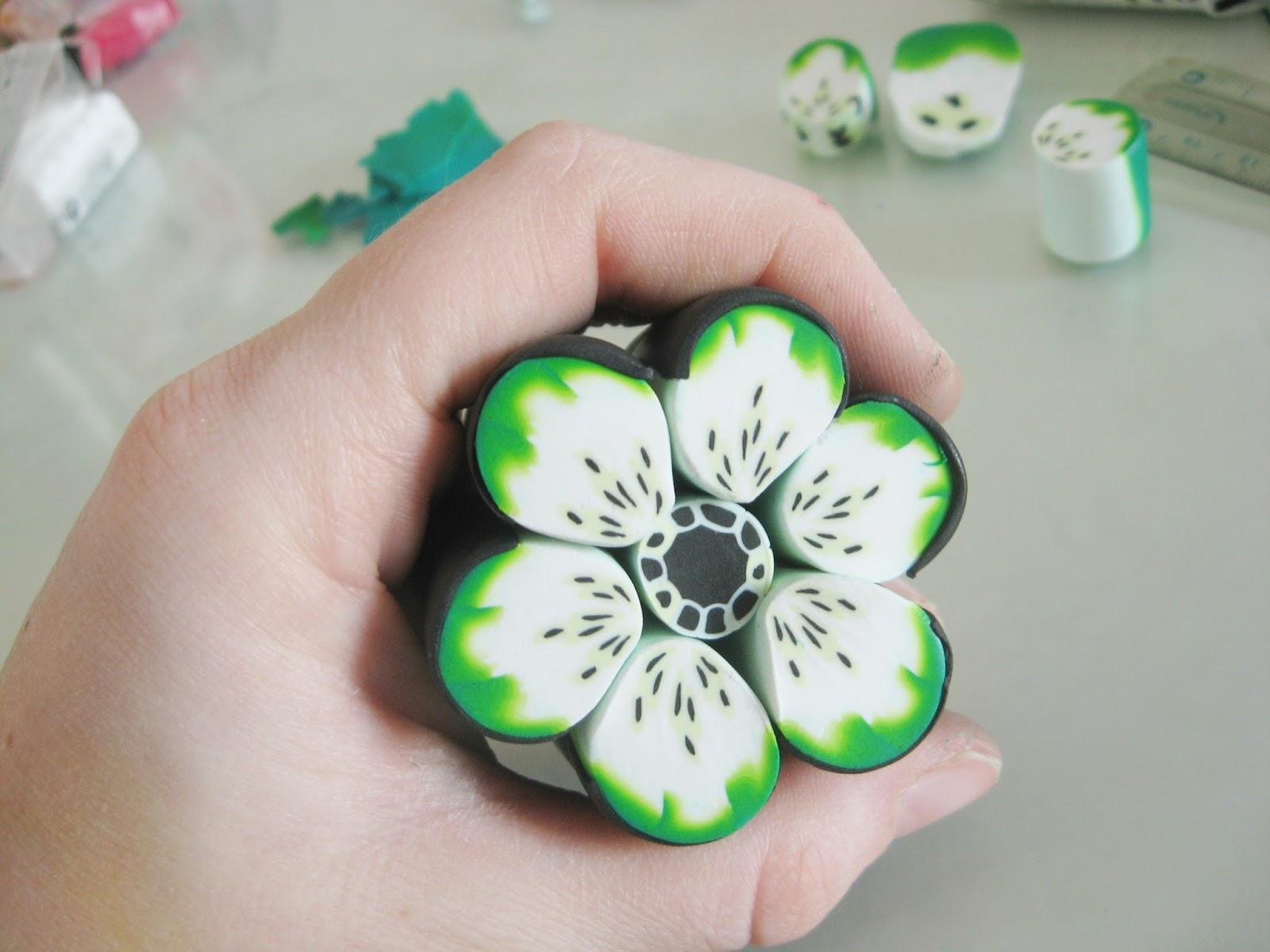 cane fleur verte