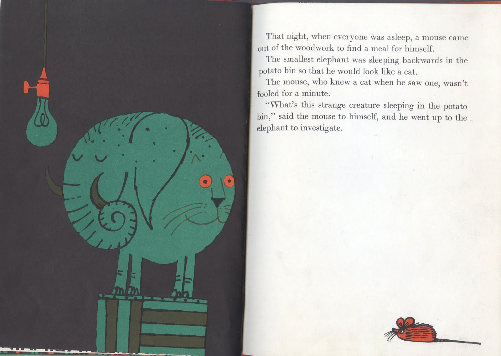 The Illustrated Book Image Collective: The Smallest Elephant in the