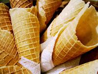 Como preparar un helado de naranja en casa