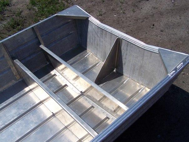 построить лодку из алюминия своими руками