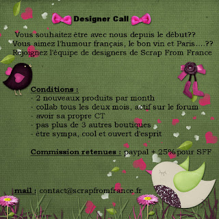Designer call Scrap From France Designer_call_francais