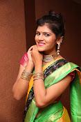 Sangeetha Kamath dazzling saree photos-thumbnail-12