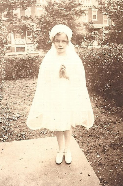 Holy Communion May 15, 1938, perhaps related to Killeen or Walsh of Portsmouth, Virginia