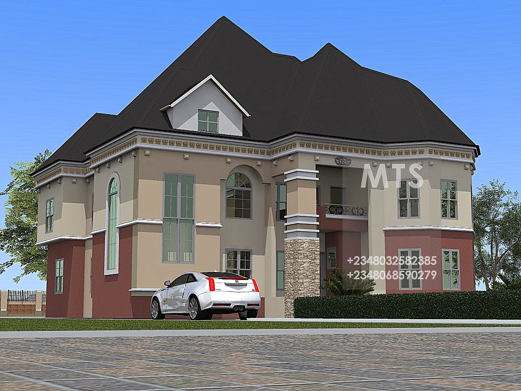 Residential Homes And Public Designs Inspired 5 Bedroom
