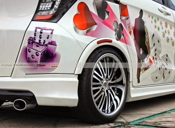 Gambar Modifikasi Mobil Honda Freed