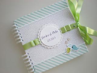 Svadobná kniha hostí s vtáčikmi / Guest book with birds
