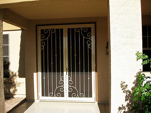 French Windows Security : Home security solutions french doors