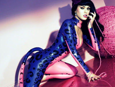 Katy Perry sexy catsuit