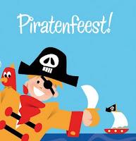 Uitnodigingskaartje piratenfeest