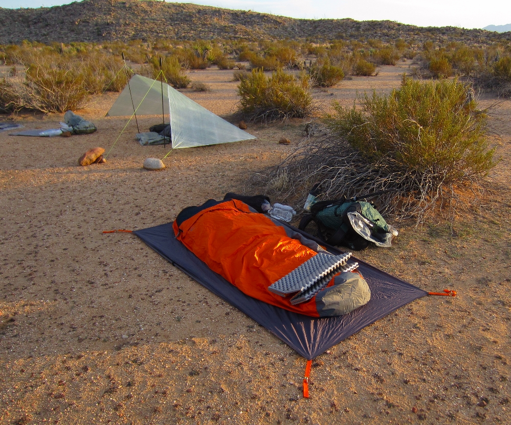 I was trying out a homemade cuben fiber tarp shelter based on Glen Van Peskiu0027s cuben wedge. I had just finished sewing this up on Friday afternoon and was ... & Sea to Summit Ultralight: February 2012